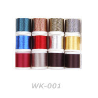 Lot of 12ea -Wrapping Thread Assortment for Rod Building (WK001)