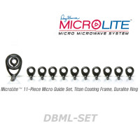 American Tackle MicroLite Micro Guides kit-Duralite(DBML-SET,Black) -Casting