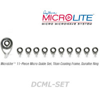 American Tackle MicroLite Micro Guides kit-Duralite(DCML-SET,Chrome)  -Casting