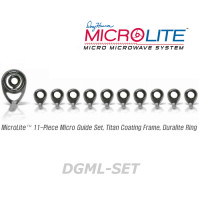 American Tackle MicroLite Micro Guides kit-Duralite(DGML-SET,Gunsmoke)  -Casting