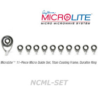 American Tackle MicroLite Micro Guides kit-Nanolite(NCML-SET,Chrome) -Casting