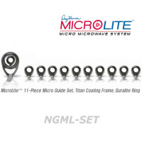 American Tackle MicroLite Micro Guides kit-Nanolite(NGML-SET,Gunsmoke)  -Casting