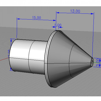 Stainless Steel Cone Type End Cap (SSPEC)