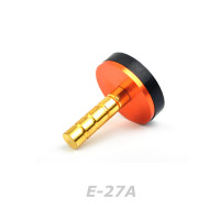 Aluminum Weighted 27mm End Cap (E-27A)