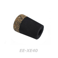 Rodcraft EVA Reargrip with Rubber Cork- Rod building END CAP (EE-XE40)