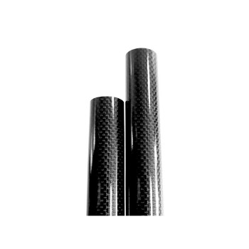 1K Woven (Glossy) Carbon Tube OD 12.8mm/ ID 11mm (WCK130)