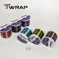 JADRAK T-Wrap Two Tone  Color Metalic Wrapping Thread 100m,A Size (TT)